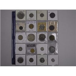 20x Coins, Tokens, Medals - Includes 1935 Silver Dollar (ATTN: 20 Times the bid price)