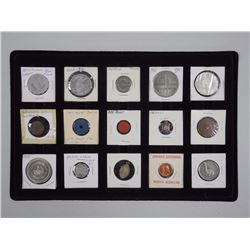 15x Mixed Tokens and Medallions (ATTN: 15 Times the bid price)