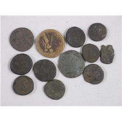 12x Byzantine Empire Ancient Coins with Giclee (ATTN: 12 Times the bid price)
