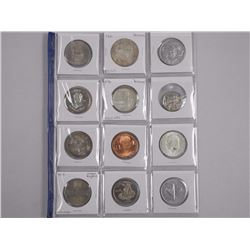 12x Estate Collector Medals, Tokens, Silver Coins etc (ATTN: 12 Times the bid price)