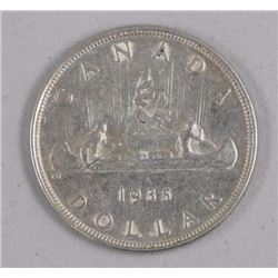 1935 Canada Silver Dollar Coin 1st Year