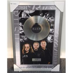 """RUSH"" Platinum Album Photo Collage - Gallery Frame"
