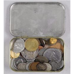 Fisherman's Friends - Tin Box with Coins as Found