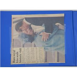 Royal Wedding - July 29, 1981 Proof Stamp Collection - Binder