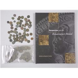 130x Ancient Roman Coins - up to 2000 years old - 70 Uncleaned and 60 clean with Reference Book (ATT