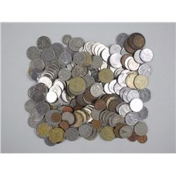 World Coins - 1.347 Kilos. Mix of Countries