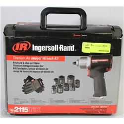 INGERSOLL RAND TITANIUM AIR IMPACT WRENCH KIT