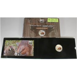 29) RCM THE BEAVER STAMP AND COIN SET LTD 4000