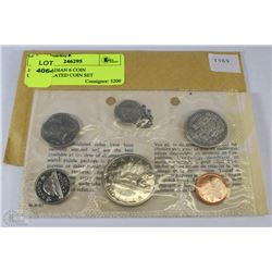 1969 CANADIAN 6 COIN UNCIRCULATED COIN SET