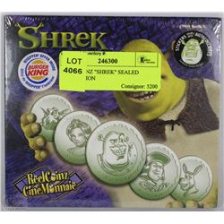 "REEL COINZ ""SHREK"" SEALED COLLECTION"