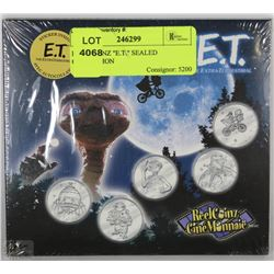 "REEL COINZ ""E.T."" SEALED COLLECTION"
