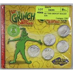 "REEL COINZ ""THE GRINCH"" SEALED COLLECTION"