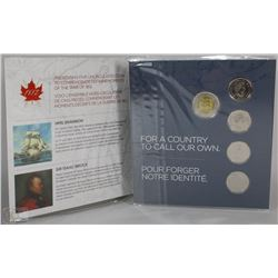 22) RCM 2012 THE WAR OF 1812 COLLECTION COIN SET