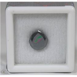 116) BLACK MOISSANITE 2.31CT LAB CERTIFIED