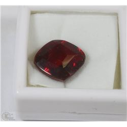 123) LAB CREATED RED RUBY 12.5CT
