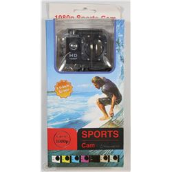 NEW 1080P SPORTS ACTION CAMERA