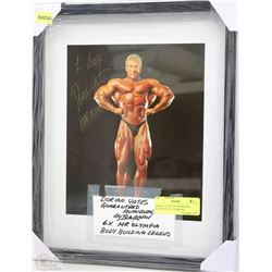 DORIAN YATES GUARANTEED AUTHENTIC AUTOGRAPH