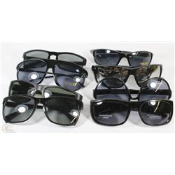 BAG OF 8 PAIRS OF ASSORTED STYLE SUNGLASSES