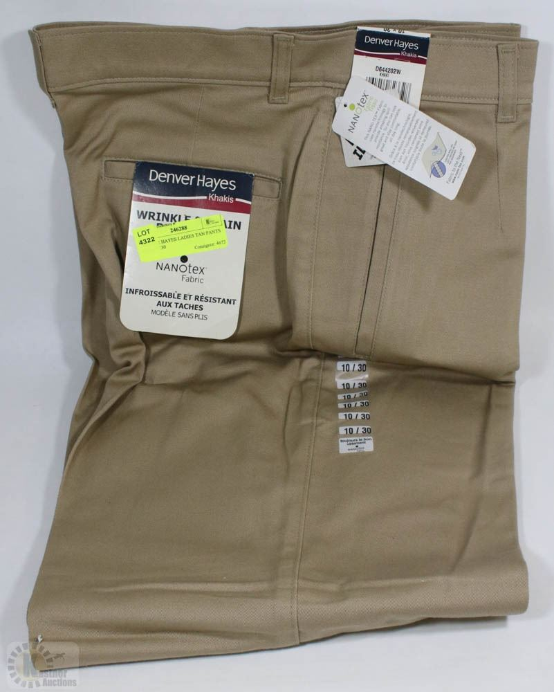 Denver Hayes: DENVER HAYES LADIES TAN PANTS SIZE 10X30