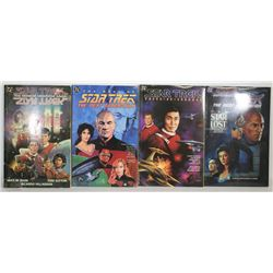 LOT OF 4 STAR TREK GRAPHIC NOVELS
