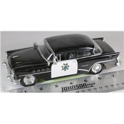 MAISTO 1955 BUICK CENTURY HI WAY PATROL CAR SCALE