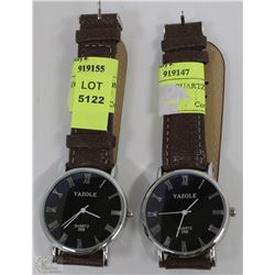 LOT OF TWO QUARTZ WATCH