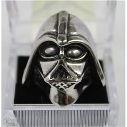 MEN'S HIPSTER STAR WARS DARTH VADER RING SZ 10