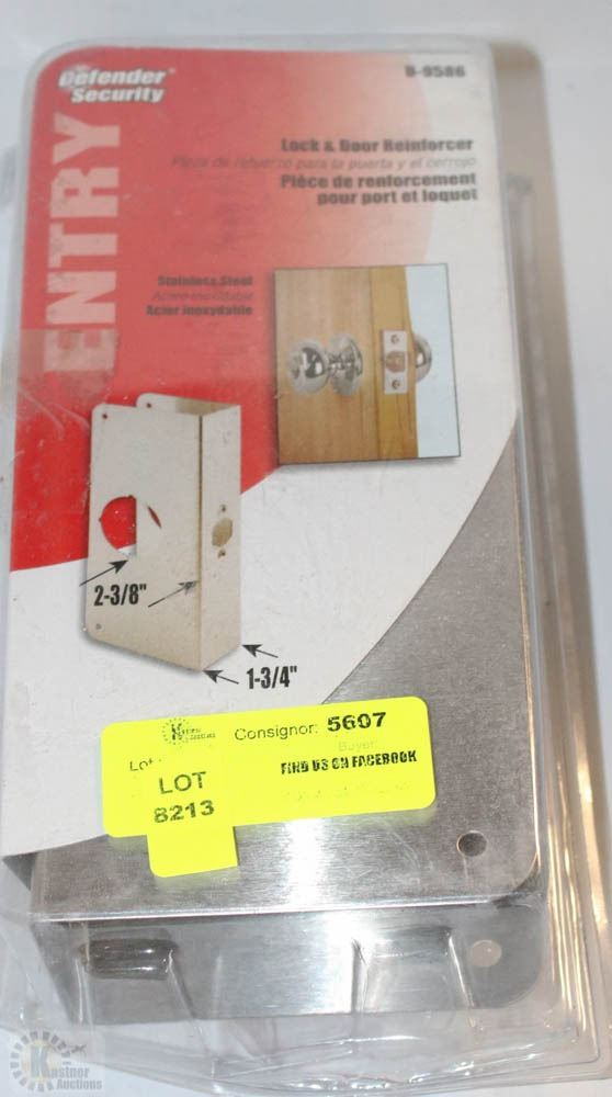 Defender Security Lock And Door Reinforcer Kastner Auctions
