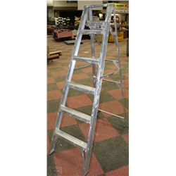 LITE 6 STEP ALUMINUM STEP LADDER