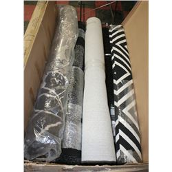 PALLET OF AREA RUGS (STORE RETURNS)