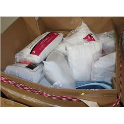 PALLET OF STORE RETURN PILLOWS