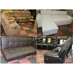 FEATURED NEW SOFAS AND SECTIONALS 2PM -5PM