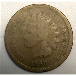 USA 1866 Indian Head Penny