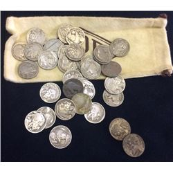 USA Bag of Buffalo Nickel, Lot of 32 pieces