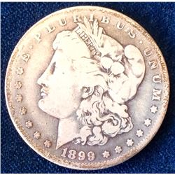 USA: 1899 o Morgan Dollar