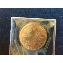 Great Britain: 1863 One Penny  MS-65 Brillant