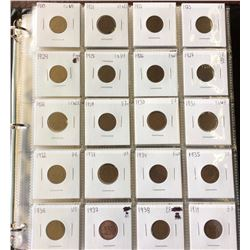 Canada Complete One Cent Serie, Including all the Keydate and Varietry, from fine to mint state