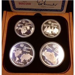 RCM: 1973 Montreal Summer Olympic Game -Series 1, Proof Set Quality