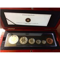 RCM: 2011 Special Edition Proof Set-100 th Anniversary of the Striking of Canada's 1911 Silver Dolla