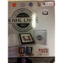 NHL: 2013 Collector's Album Team and Memorial Tropfy All of Fame