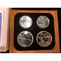 RCM: Montreal Summer Olympic Games -Series  IV  Sterling Silver Coin Proof  Set