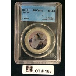 MRC: 2013 25 Cents Barn Owl SP-68 CCCS