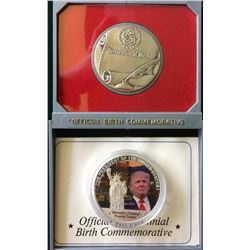 USA: Token The President of The United Stare Donald J.Trump-Trump Tower & The Great Seal Official Bi