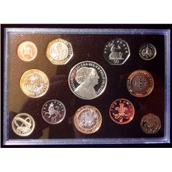 United kingdom: 2007 Executive Proof Set with C.O.A.  Wood Box