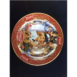 """Coca-Cola Limited Edition Fine Porcelain """"Patriotic Pride"""" serial: Ra4512 From The Franklin Mint"""