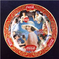 "Coca-Cola Limited Edition Fine Porcelain ""Ladies of Style"" serial: Ra159 From The Franklin Mint"