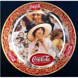 "Coca-Cola Limited Edition Fine Porcelain ""Fashion Ladies"" serial: Ra9687 From The Franklin Mint"