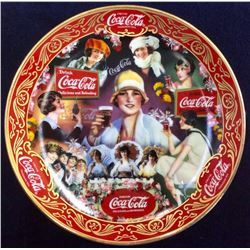 "Coca-Cola Limited Edition Fine Porcelain ""Roaring 20's"" serial: Ra5829 From The Franklin Mint"