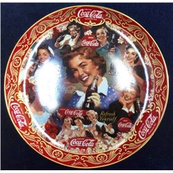 "Coca-Cola Limited Edition Fine Porcelain ""Fabulus '50's"" serial: Ra7083 From The Franklin Mint"