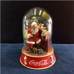"Coca-Cola Limited Edition ""Dear Santa Globe"" , Please Pause Here , Sculp no: po5563"